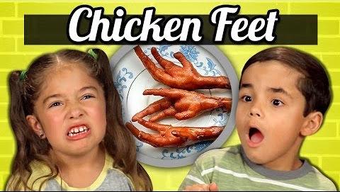 pollo y la comida en inglés